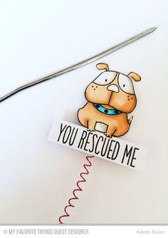 Handmade card from Keren Baker #mftstamps