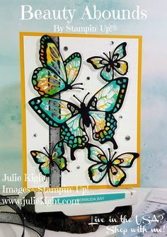 Beauty Abounds Watercolor Thank You Card - Kylie's International Highlights Creative Birthday Cards, Cute Birthday Cards, Handmade Birthday Cards, Butterfly Cards, Flower Cards, Send A Card, Thank You Cards, Handmade Greeting Card Designs, Bee Cards
