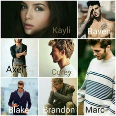The Scarab Beetle Series - Main Characters (close enough for me)