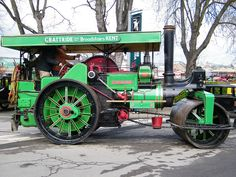 """1922 Aveling and Porter Road Roller  """"King George"""""""
