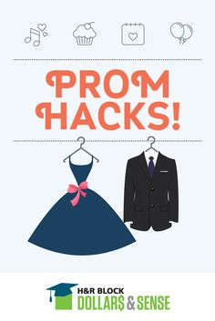 """Prom isn't cheap, but with a little creativity and these """"hacks"""" your teen can have fun without breaking the bank."""