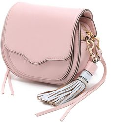 Be pretty in pastel pink with this Rebecca Minkoff mini Sydney cross body bag on ShopStyle