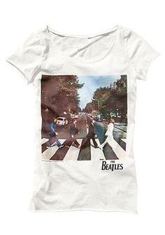 White Beatles T-Shirt. #beatles #vintage #tee