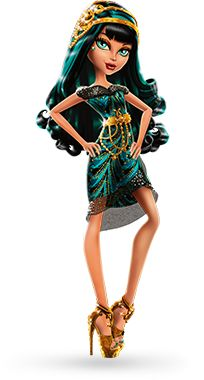 """Cleo De Nile from """"Frights, Camera, Action""""    I have this doll! :)"""