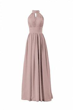 DaisyFormals Long High-Collar Bridesmaid Dress(BM5742)- Dusty Rose DaisyFormals http://www.amazon.com/dp/B00PS2ACZ8/ref=cm_sw_r_pi_dp_9y9Uvb1V4YPG9