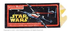 Lot 84  Star Wars Lyons Maid Wrapper (1977). Rare. Good.  Estimate: £15 - £20