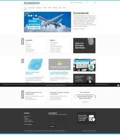 Considerati helpt cliënten met het managen van vraagstukken op het gebied van privacy, cybercrime, auteursrechten, e-commerce, ISP-aansprakelijkheid en de introductie van nieuwe technologieën of innovaties. Dutchwebdesign heeft de responsive en meertalige website ontwikkeld, www.considerati.nl