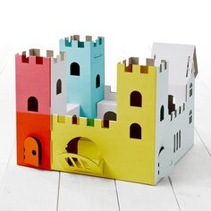Calafant: Cardboard Construction Sets- love it all.