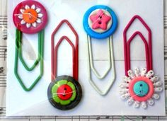Clips decorados - Artesanato na Rede