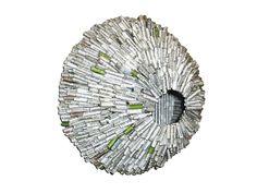 Vogelnest - Bianco - Papierskulptur von CeeBee  auf DaWanda.com