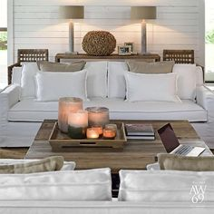 White & Linen way of living by Artwood #artwood #interior #decoration…