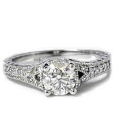 Cheap vintage engagement rings 1 photo