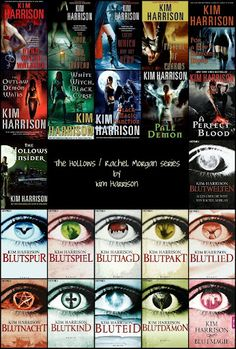 Kim Harrison -  The Hollows (English and German editions)