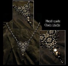 Chain Maille Jewelry: Necklace