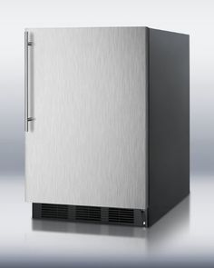Summit AL652BBISSHV ADA compliant builtin undercounter refrigeratorfreezer with stainless steel door blac -- Read more reviews of the product by visiting the link on the image.  This link participates in Amazon Service LLC Associates Program, a program designed to let participant earn advertising fees by advertising and linking to Amazon.com.