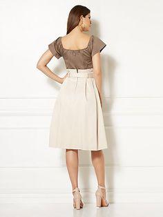 Eva Mendes Collection - Cloe Paperbag-Waist Dress - New York & Company