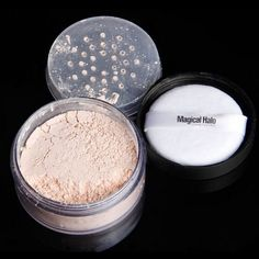 Magical Halo Oil Control Breathable 55g Bottle Luxury Loose Powder Base Makeup