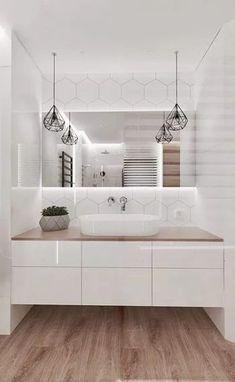 Trendy Bathroom Shower Organization Kitchens Ideas – Home Decor On a Budget Bathroom Small Bathroom Vanities, Modern Bathroom Design, Bathroom Interior Design, Master Bathroom, Vanity Bathroom, Bathroom Vintage, Shower Bathroom, Bath Design, Modern Interior