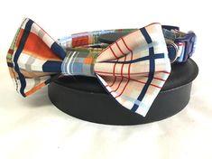 Dog collar plaid dog collar bow tie dog collar bow tie