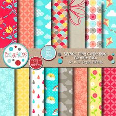 Pretty Paper, Pretty Ribbons Spring Fling Pattern Pack