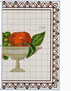 Lú cantinho do bordado e da cozinha: PONTO CRUZ (PASSADEIRA DE MESA) 05