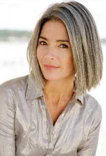 hair styles and Gray hair