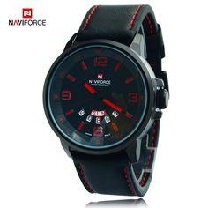 NAVIFORCE Luxury Top Brand Men's Sports Watches Fashion Casual Quartz Watch Men Military Wrist Watch Male Relogio Clock