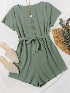 Really Cute Outfits, Cute Comfy Outfits, Cute Girl Outfits, Cute Casual Outfits, Girls Fashion Clothes, Teen Fashion Outfits, Look Fashion, Rompers For Teens, Cute Rompers