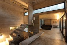 JD House an Argentina home located in the forest of Mar Azul designed by BAK Architects