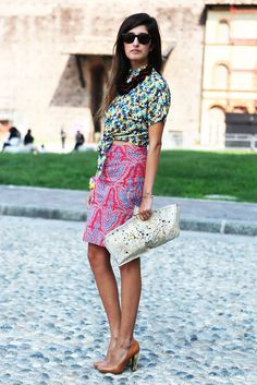 Love the mix of prints
