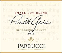 #wow Acknowledging the diverse heritage of the Pinot Gris grape, we select #individually-vinified #small lots of premium varietal Pinot Gris grapes to blend a win...