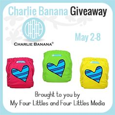 Bloom Into Baby: SoftBums and Charlie Banana Giveaway  Ends 5/8