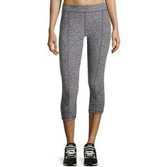 XCVI Ainsley Cropped Active Leggings ($51) ❤ liked on Polyvore