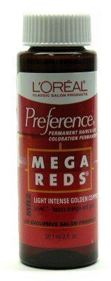 L'Oreal Preference - MR2 Mega Red-Light Intense Gold Copper (3-Pack) with Free Nail File ** Check out this great product.