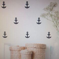Anchor Wall Decals #decor #anchor #wallsticker #home #decoration #living #maritim