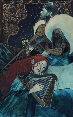"geekynerfherder:"" 'Monarch's Lullaby' by Qistina Khalidah.Available as a gallery-quality giclée art print on cotton rag archival paper, printed with archival inks.Go here to buy. Art Inspo, Kunst Inspo, Inspiration Art, Art And Illustration, Fantasy Kunst, Fantasy Art, Art Graphique, Gustav Klimt, Art Design"