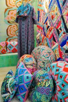 Fall Quilt Market 2013 - Free Spirit Fabrics Part 2 - Amy Butler