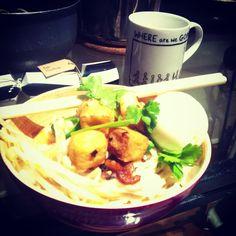 Homemade Singapore Mee Rebus for dinner!