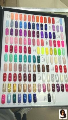 Glitter Gel Polish, Gel Nail Polish Colors, Gel Nails, Acrylic Nail Supplies, Diy Acrylic Nails, Pastel Ombre, Gomme Laque, Nail Lacquer, Gel Nail Art Designs