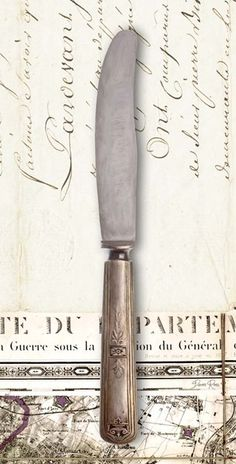 French Cuisine Knife Poster Print by Devon Ross Vintage Diy, Vintage Shabby Chic, Vintage Labels, Kitchen Prints, Kitchen Art, Vintage Pictures, Vintage Images, Collages D'images, Decoupage Printables