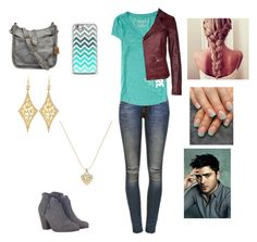Date with Zac by harrystylesandliampayne on Polyvore featuring polyvore, beauty, Annie Fensterstock, Juicy Couture, Frye, Goosecraft, Anine Bing, Aéropostale and rag & bone