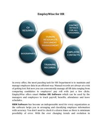 EmployWise for HR Hr Management, Life Cycles