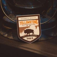 Yellowstone National Park Sticker - Buffalo Jackson Trading Co