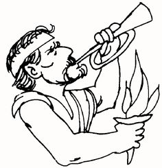 free printable bible coloring page of gideon bible lesson more