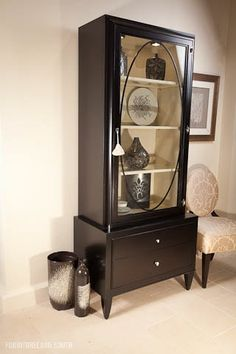 Perfect. Barbara Barry by Henredon  Looking Glass Cabinet