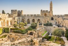 The Tower of David Museumis located in the Jerusalem Citadel just inside the Jaffa Gate in the Old City. The museum depicts 4,000 years of Jerusalem's history, from its beginnings as a Caananite city to modern times.