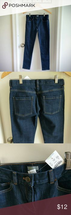 NWT J crew crewcuts girls skinny jeans size 12 Back to school basic!  Factory brand. Never worn. All reasonable offers considered!! J. Crew Bottoms Jeans