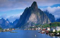 Reine, Norway, Lofoten Islands, one of the world's most beautiful villages. Lofoten, Vacation Destinations, Dream Vacations, Vacation Spots, Norway Destinations, Holiday Destinations, Vacation Rentals, Places Around The World, The Places Youll Go