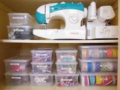 IHeart Organizing: Reader Space: A Crazy Cool Craft Closet