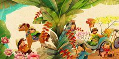 RGB.vn  | [Showcase] Những nét vẽ tài hoa của chàng họa sĩ trẻ Khánh Trần